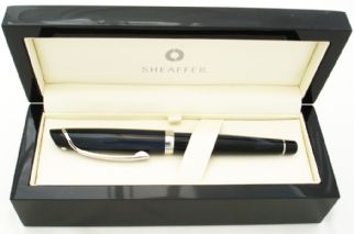 Sheaffer Valor Rollerball Pen in Deep Blue with Palladium Plate Trim